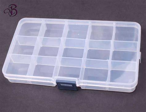 bead storage containers jewelry 15 grid jewelry organizer 12 3x6 6x2 3cm bead