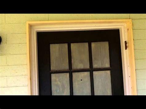 how to trim an exterior door front door entry way exterior molding wmv