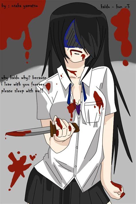 Mucha Artwork by Osaka Yamatsu Yandere Knives By Osakayamatsu On Deviantart