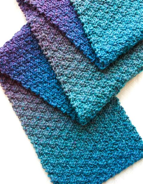 knitting scarf pattern 9 free scarf patterns in knit or crochet