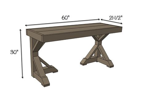 desk plans diy trestle desk free plans rogue engineer