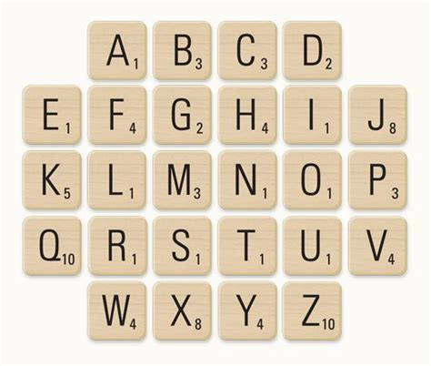 printable scrabble 7 best images of printable scrabble tiles for teachers