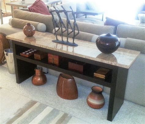 granite top sofa table granite coffee table with expedit wall shelf and lack