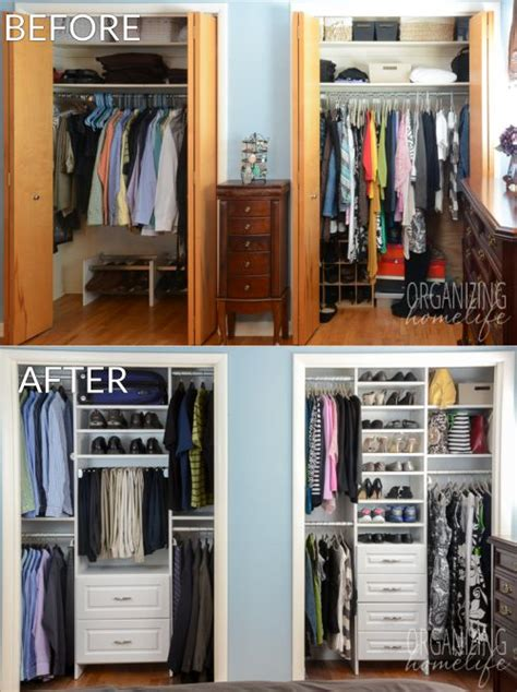 tiny closet organizers 25 best ideas about small closet organization on
