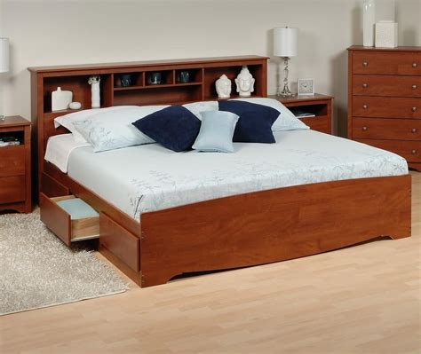 bed bookcase headboard prepac platform storage bed w bookcase headboard by oj