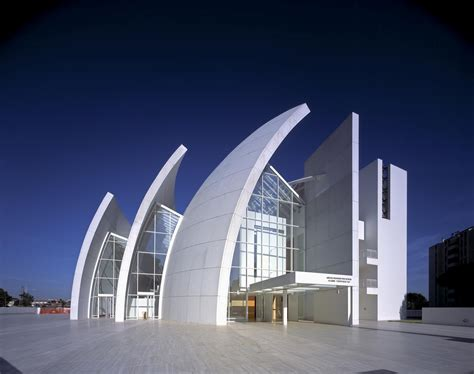 modern architects iconic modern architecture jubilee church in rome by