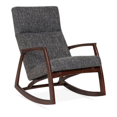 Chair Rocker by Cult Living Stanley Rocking Chair In Grey Cult Furniture Uk