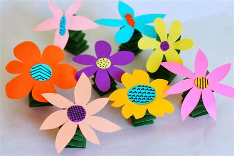 flower arts and crafts for salsa pie diy y flowers activities for