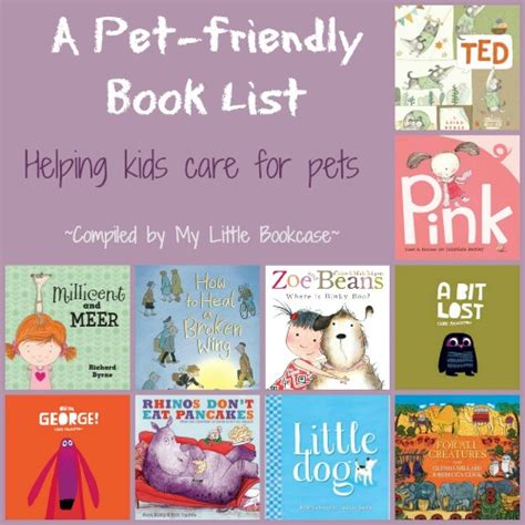 picture books about pets book list books about pets and caring for animals my