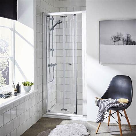 shower doors uk ella bi fold shower door various size options at