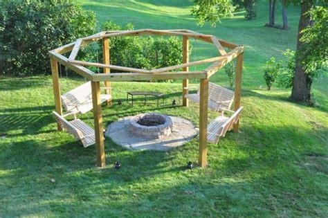 diy backyard swing diy backyard pit with swing seats