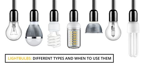 types of light bulbs light bulbs different types and when to use them wire craft