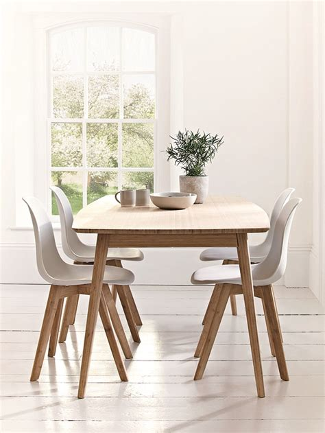 dining table and four chairs scandinavian style dining room furniture homegirl