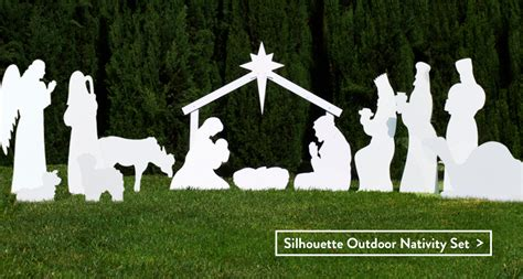 nativity silhouette woodworking patterns best photos of outdoor nativity patterns template