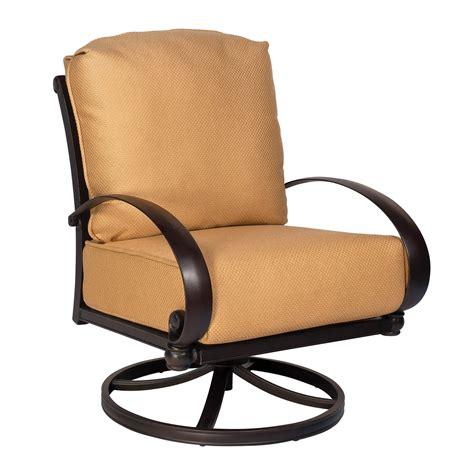 outdoor swivel rocking chairs woodard 7z0477 outdoor swivel rocking lounge chair