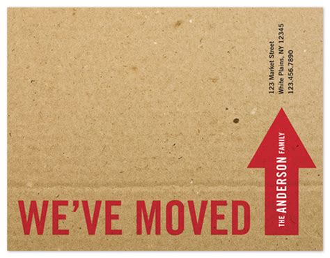 how to make moving cards moving announcements the big move at minted