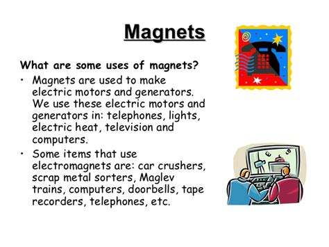 what are for what are magnets used for
