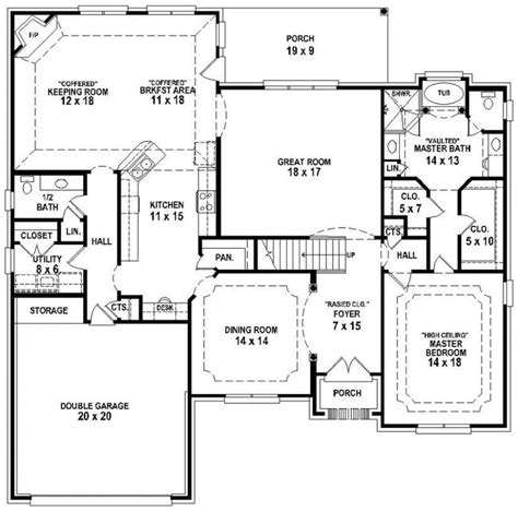 house plans with and bathrooms new 3 bedroom 2 5 bath house plans new home plans design