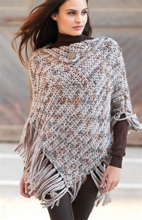 free knitted poncho patterns modern poncho knitting patterns in the loop knitting