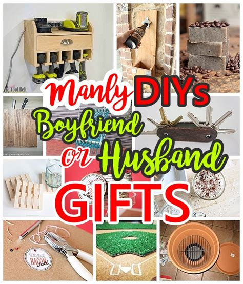 do it yourself crafts manly do it yourself boyfriend and husband gift ideas