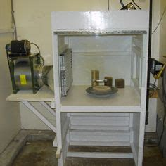 spray painter and prepper home made spray booth
