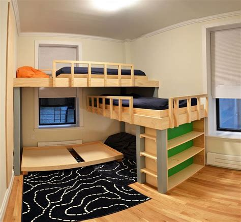 three way bunk bed best 20 bunk beds ideas on