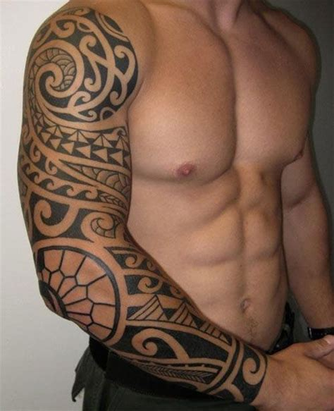 the 25 best tribal sleeve tattoos ideas on pinterest