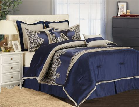 bedding blue ideas blue comforter sets with nightstand