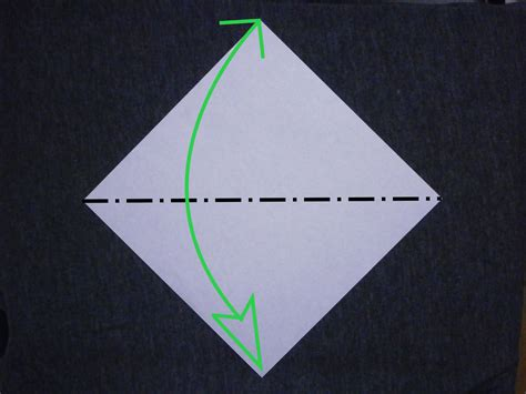 mountain fold origami katakoto origami basic technique quot mountain fold quot