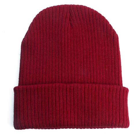 knit hats for knit plain beanie cap ski hat solid casual