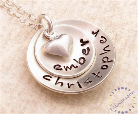 how to make engraved jewelry personalized necklace sted jewelry custom