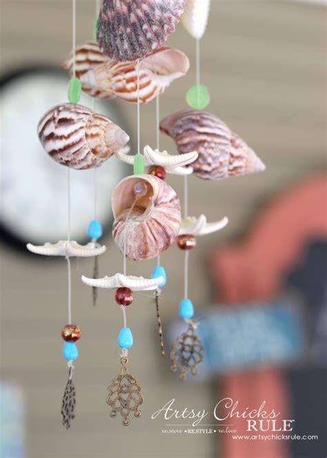 diy beaded wind chimes diy seashell bead wind chime artsy rule 174