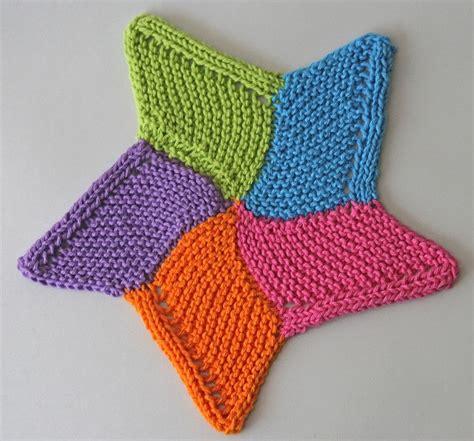 knitted starfish pattern starfish cloth knit crochet