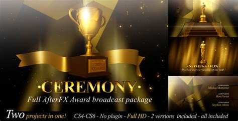 broadcast template quot award ceremony quot by keybal videohive