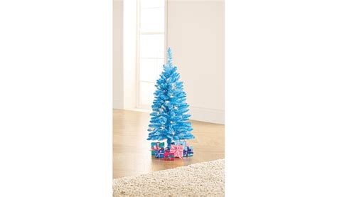 blue pre lit tree 3ft blue pre lit tree shop george