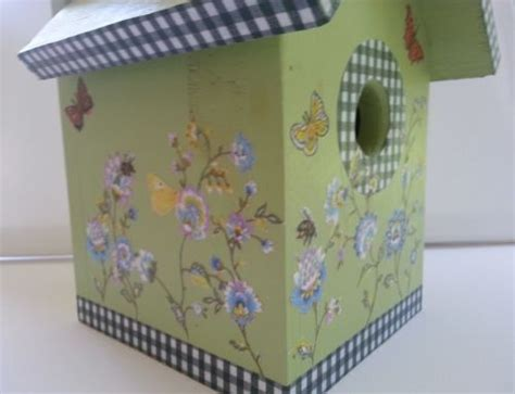 decoupage with wrapping paper decoupage