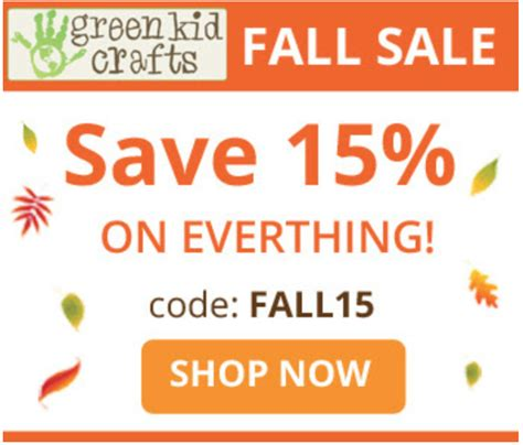green kid crafts promo code last day green kid crafts sale 15 any length
