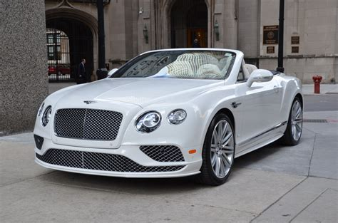 Bentley Continental Gtc by 2017 Bentley Continental Gtc Speed Stock B832 S For Sale