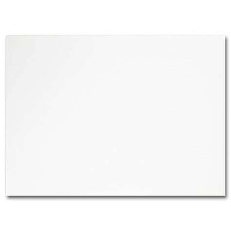 plain cards for card hi white a7 plain card 5 1 8 x 7 impressions