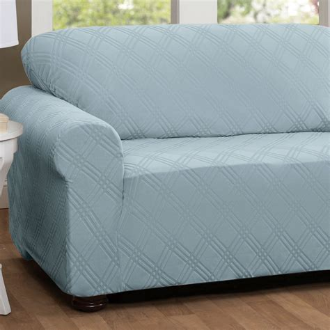 stretch slipcovers for sofa stretch sofa slipcovers