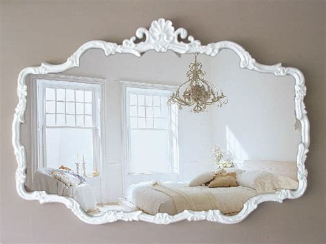 vintage shabby chic mirrors vintage cottage chic mirror shabby chic by