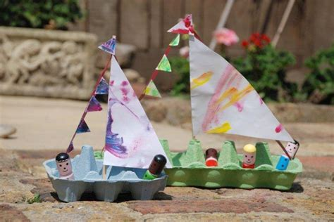 kid craft boats hello wonderful 10 delightful and easy boat crafts