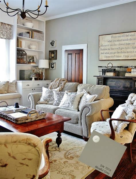 paint colors in the gray family family room mindful gray