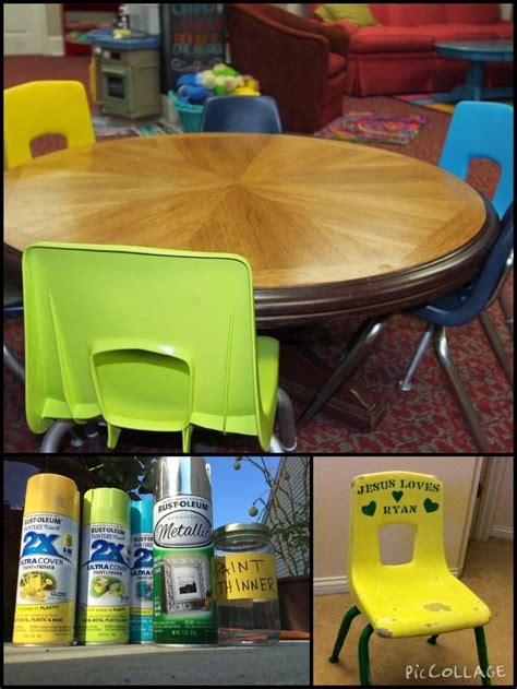 spray painting vinyl furniture 17 best ideas about painting plastic chairs on