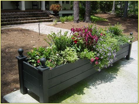 backyard planter box ideas flower box ideas for balcony windows indoor and front yard