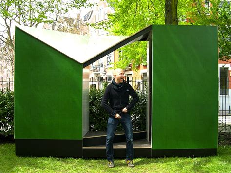 Eco Outdoor Toilet by Easehouse Pop Up Toilet Is An Outhouse With A View In