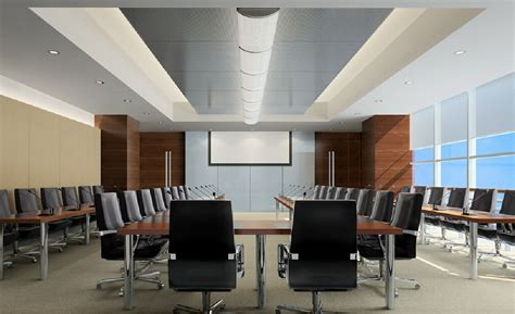 conference room design conference room interior design with microphones on the