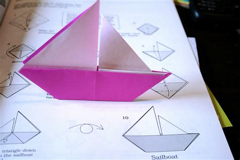 simple origami boat origami boat flickr photo