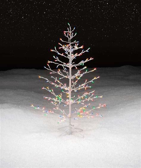 white stick tree trim a home 174 4 5 multicolor lighted stick tree
