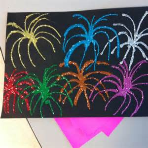 paper and glue crafts firework craft using black construction paper elmer s